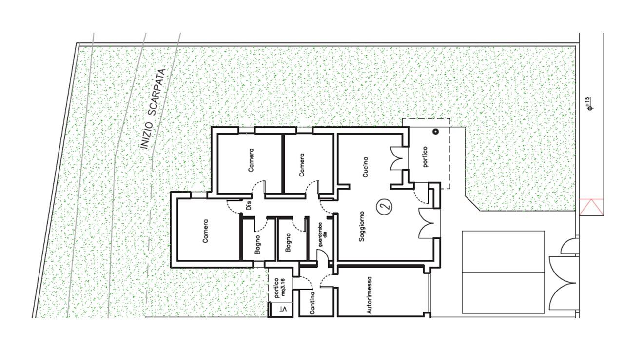 Castenaso villa bifamiliare in vendita